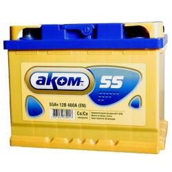 AKOM 6СТ-55 Евро EFB