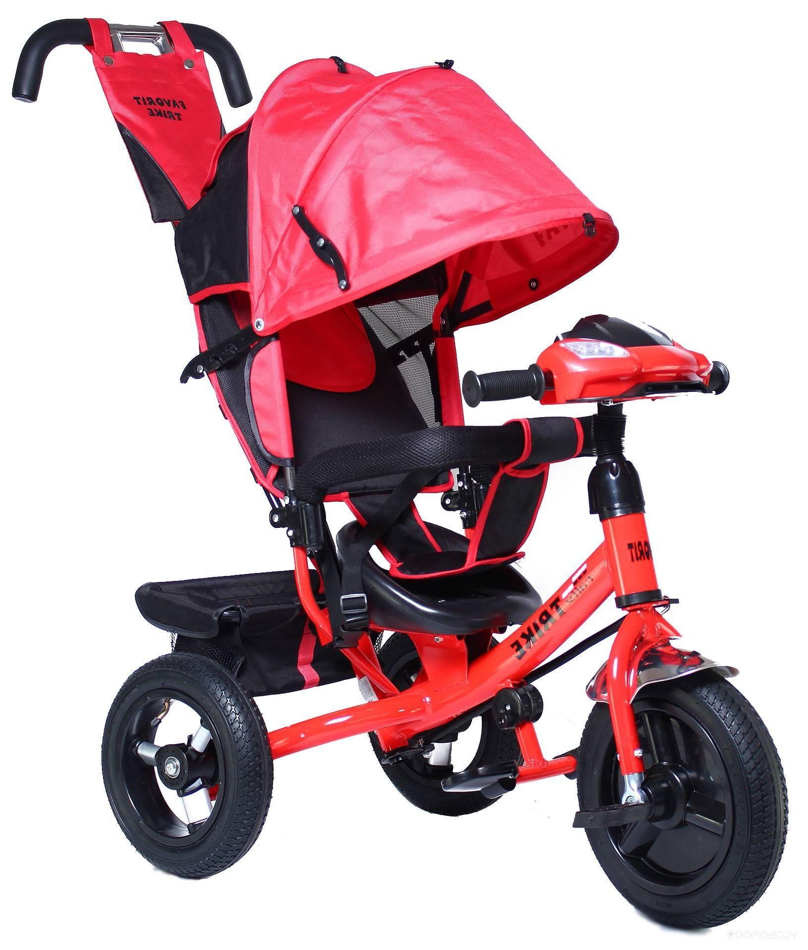 Детский велосипед Favorit Trike Rally FTR-1210 (красный)