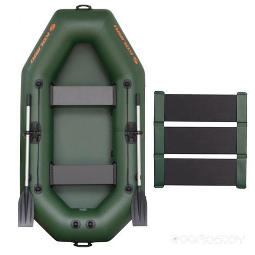 Надувная лодка Kolibri K-240T c ковриком-сланью