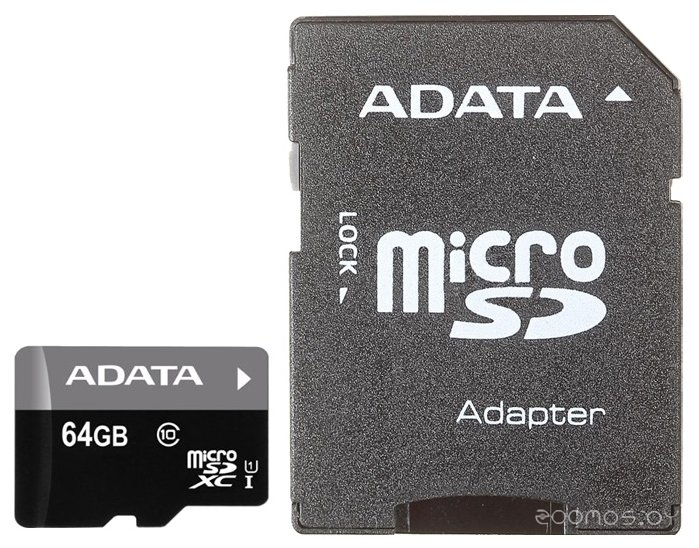 Карта памяти A-Data AUSDX64GUICL10-RA1