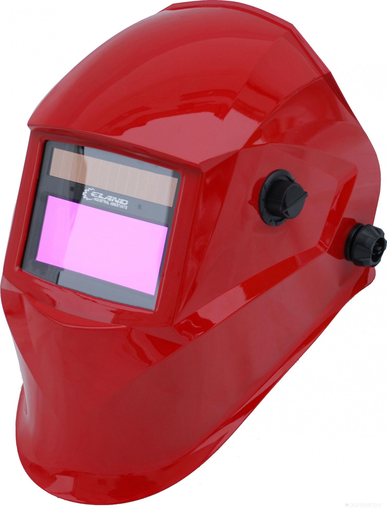 Сварочная маска Eland Helmet Force-801 (красный)