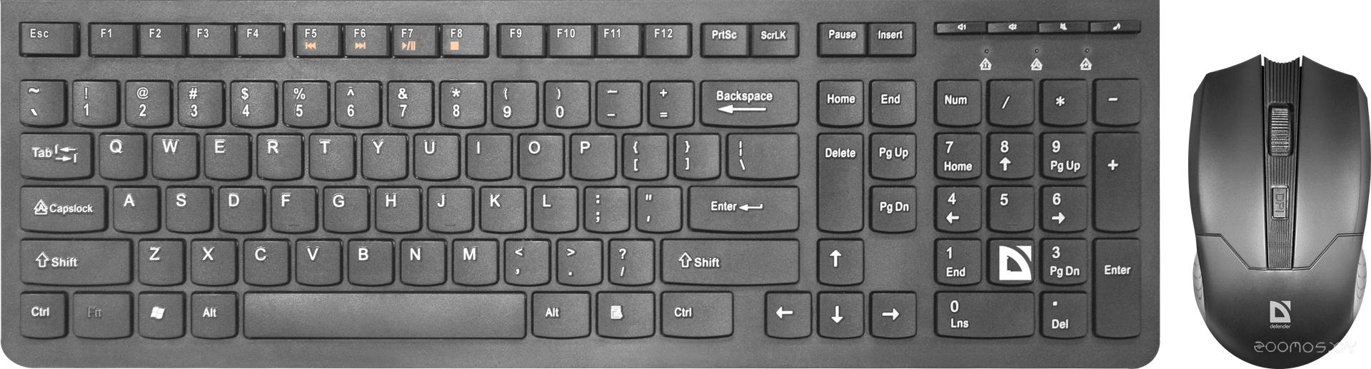 Клавиатура + мышь Defender Columbia C-775
