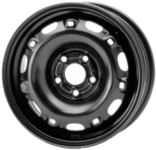 Magnetto Wheels 15007 6x15/5x100 D57.1 ET38 Black
