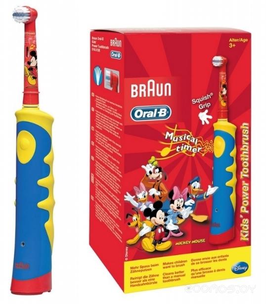 Электрическая зубная щетка Oral-B Kids Power Toothbrush D10 Mickey Mouse