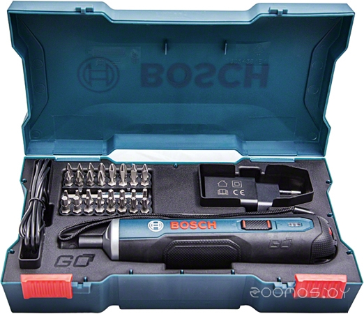 Электроотвертка Bosch Go Kit