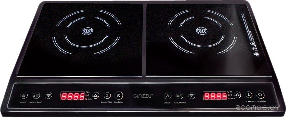 Настольная плита Ginzzu HCI-205
