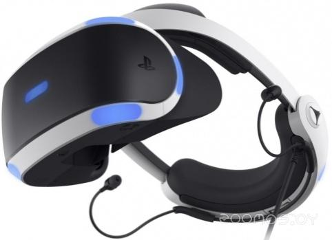 Очки виртуальной реальности Sony PlayStation VR v2 + игра VR Worlds и Camera