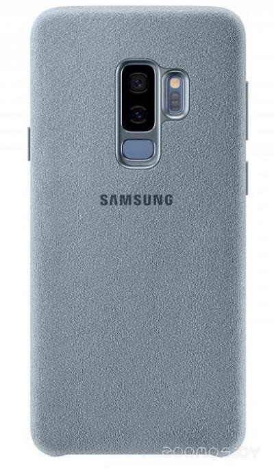 Чехол Samsung Alcantara Cover для Galaxy S9+ (Mint)