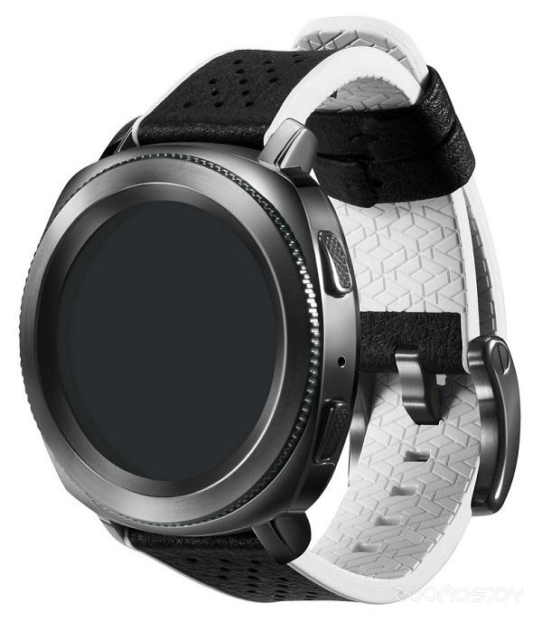 Сменный ремешок Samsung Gear Sport Braloba Hybrid  (White)