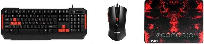 Клавиатура + мышь Sven Challenge 9000 Combo