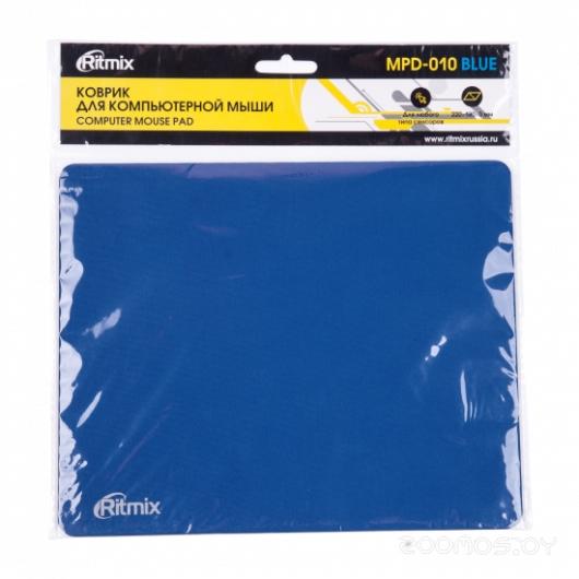 Коврик для мыши Ritmix MPD-010 (синий)