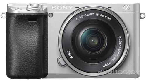Цифровая фотокамера Sony Alpha ILCE-6300 Kit 16-50mm (Silver)