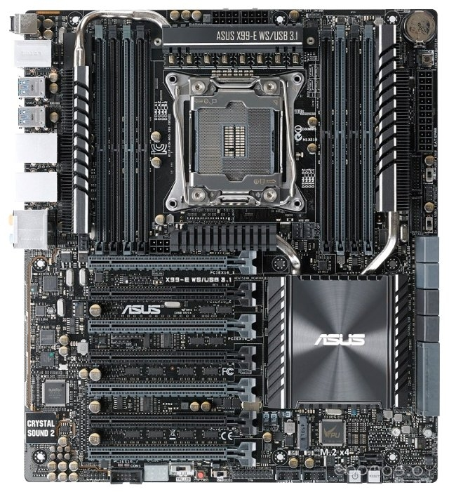Материнская плата Asus X99-E WS/USB 3.1