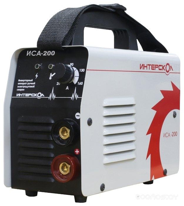 Сварочный инвертор Интерскол ИСА-200