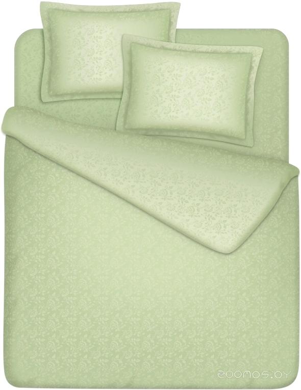 Комплект постельного белья Vegas EuroKR160.200-4J (Нежная оливка)