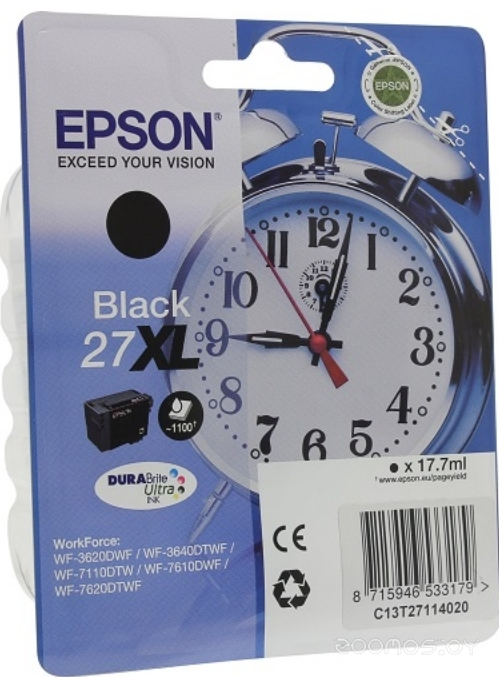 Картридж Epson C13T27114022