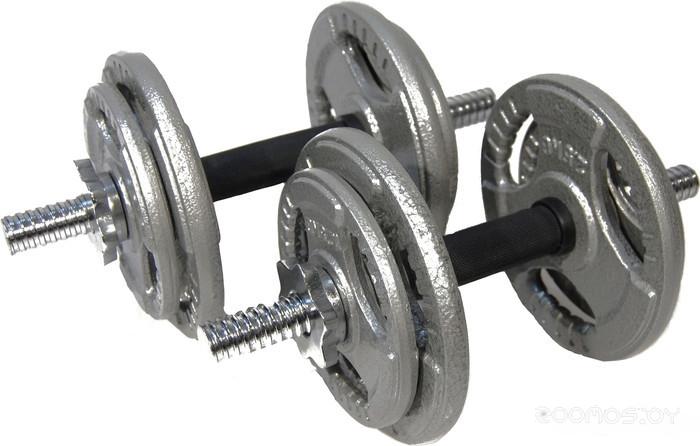 Гантели Atlas Sport Хаммертон 2x9 кг