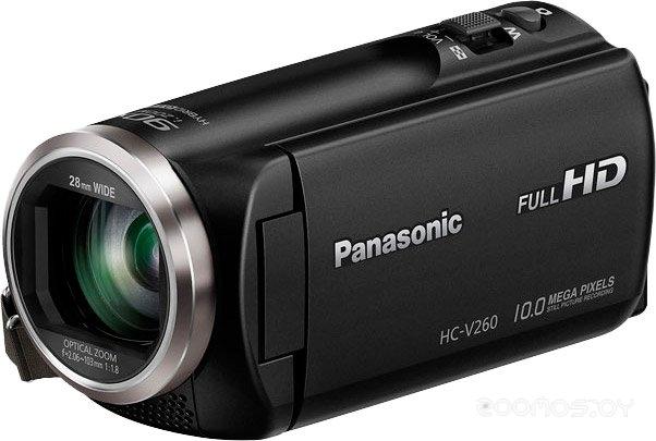 Видеокамера Panasonic HC-V260 (Black)