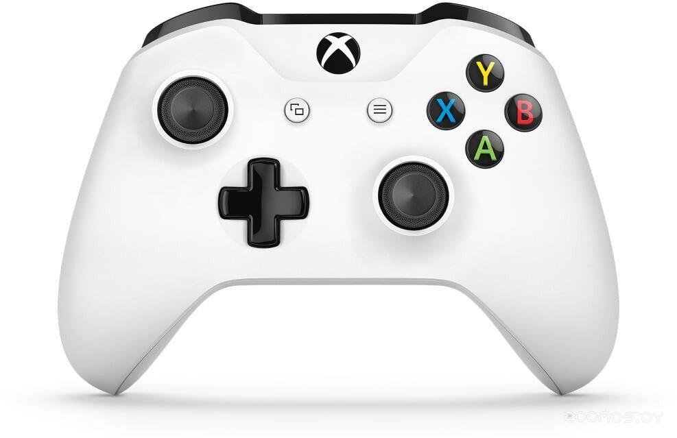 Беспроводной геймпад Microsoft Xbox One S Wireless Controller (White)