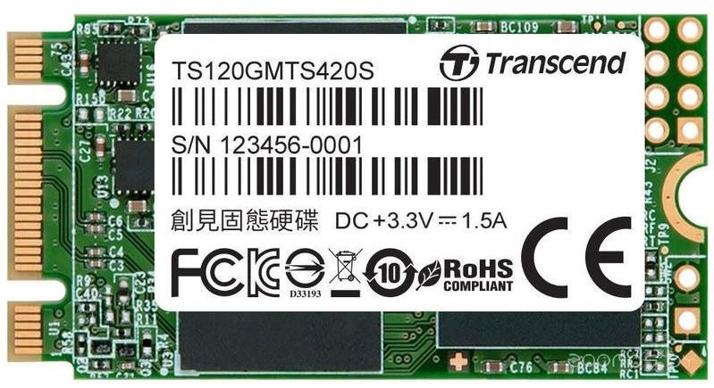 Внешний жёсткий диск Transcend TS120GMTS420S
