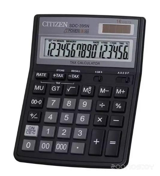 Калькулятор CITIZEN SDC395N