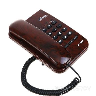 Проводной телефон Ritmix RT-320 (Brown)