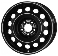 Magnetto Wheels 16016 6x16/5x114.3 D67.1 ET43 Черный