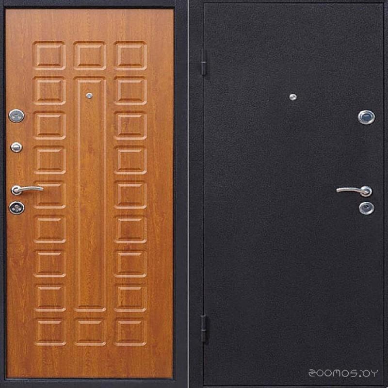 Металлические двери Йошкар Золотистый дуб (левая)