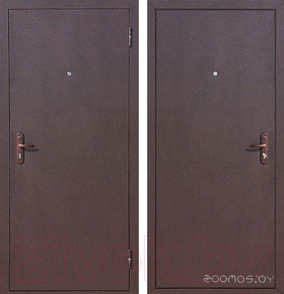 Металлические двери Йошкар Стройгост 5-1 Металл (правая)