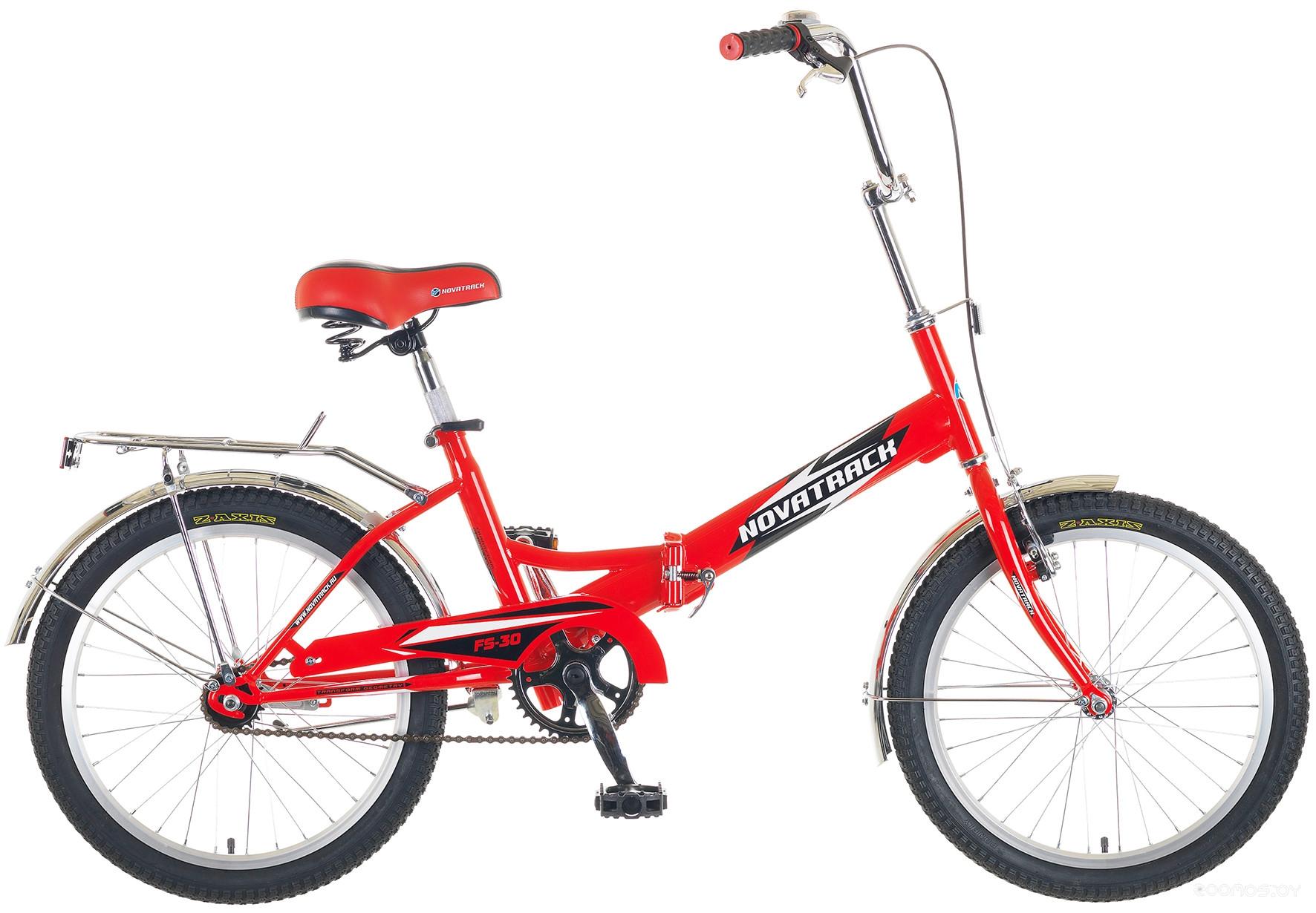 Велосипед NOVATRACK FS-30 20FFS301V.RD5