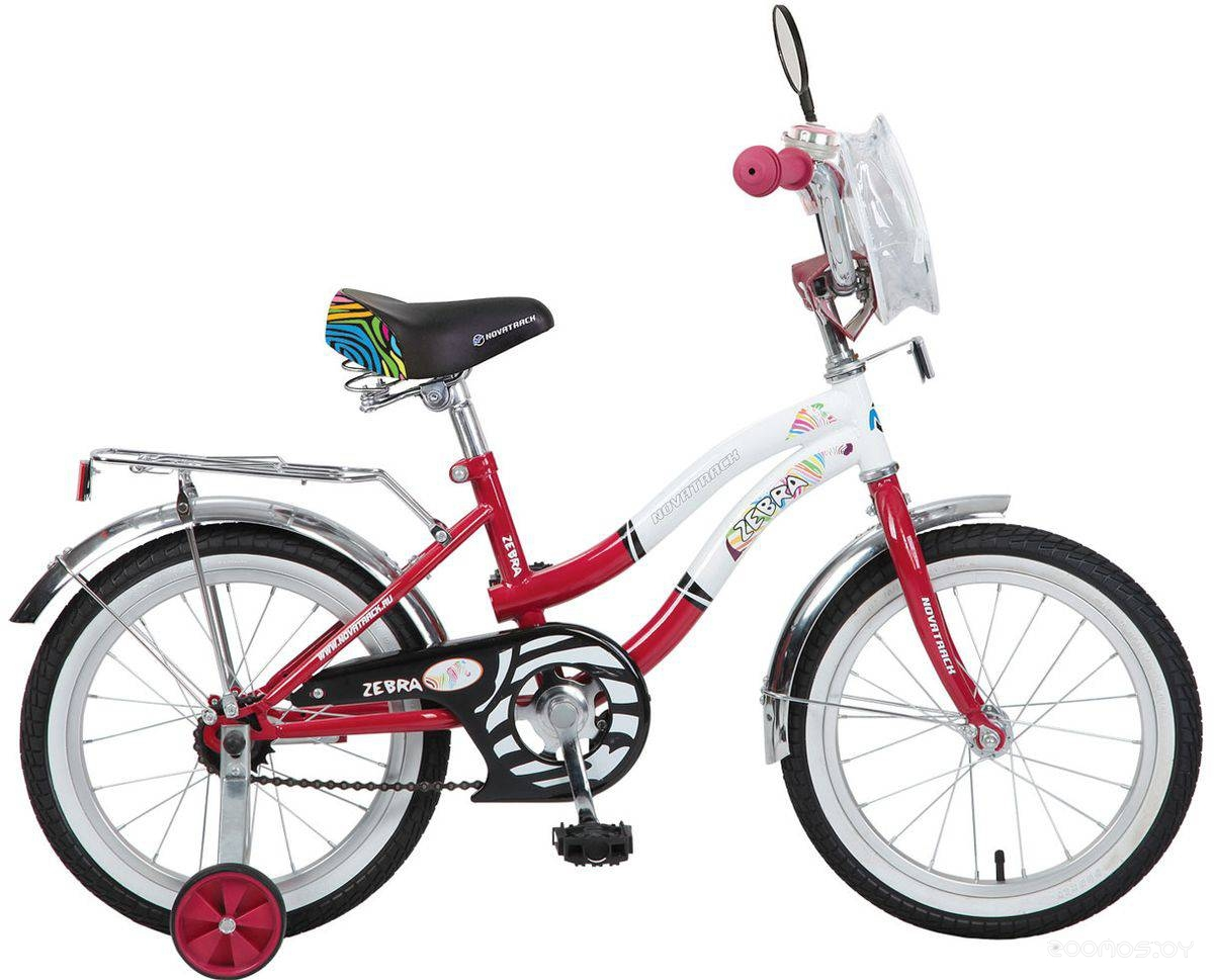 Детский велосипед NOVATRACK Zebra 165ZEBRA.RD6