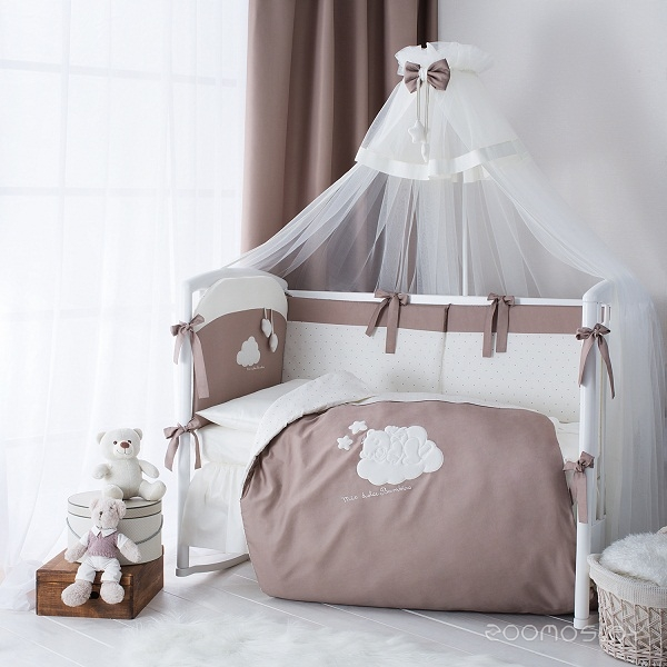 Комплект постельного белья Perina Бамбино ББ3-01.5 (Капучино)