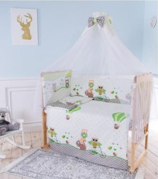 Комплект постельного белья Баю-Бай Раздолье К50-Р3 (Green)