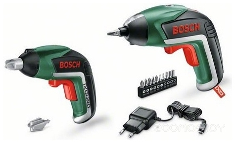 Электроотвертка Bosch IXO V Family Set