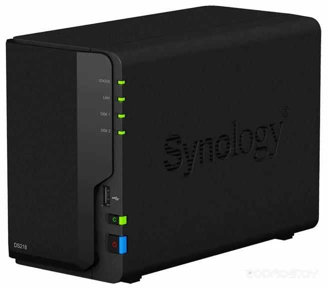 Сетевой накопитель SYNOLOGY DS218