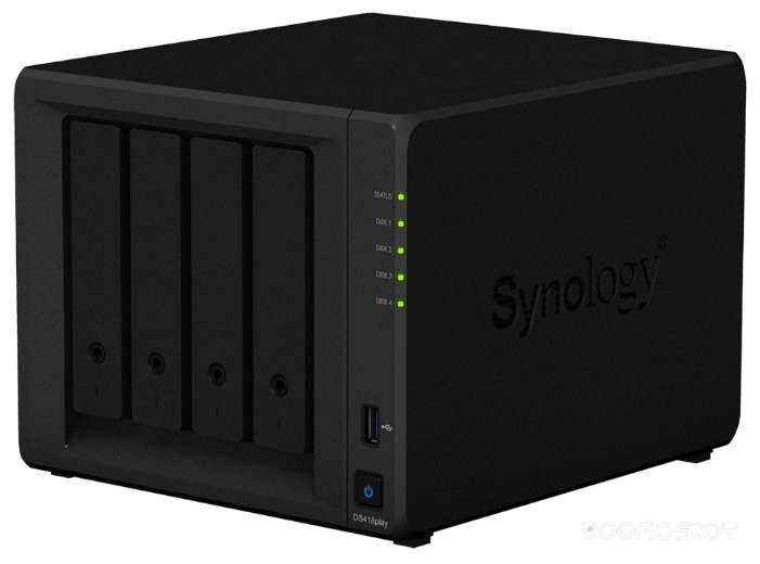 Сетевой накопитель SYNOLOGY DS418play