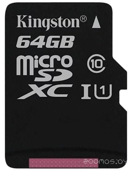 Карта памяти Kingston SDCS/64GB