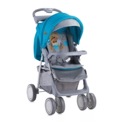 Lorelli Foxy Hello Bear (Blue/Grey)