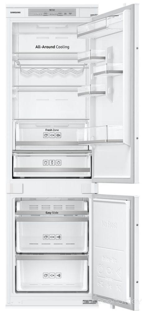 Холодильник с нижней морозильной камерой Samsung BRB260030WW/WT