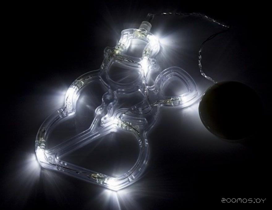 Гирлянда Neon-night Снеговик на присоске с подвесом