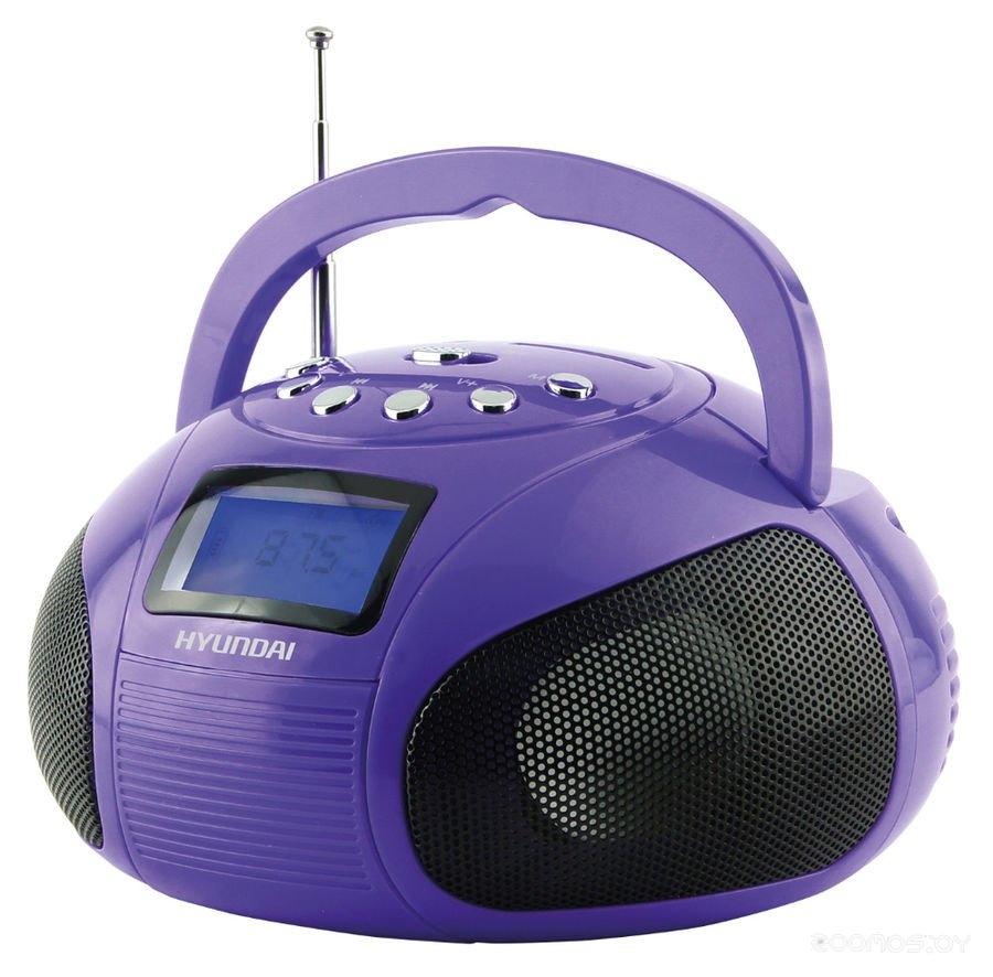 Магнитола Hyundai H-PAS100 (Purple)