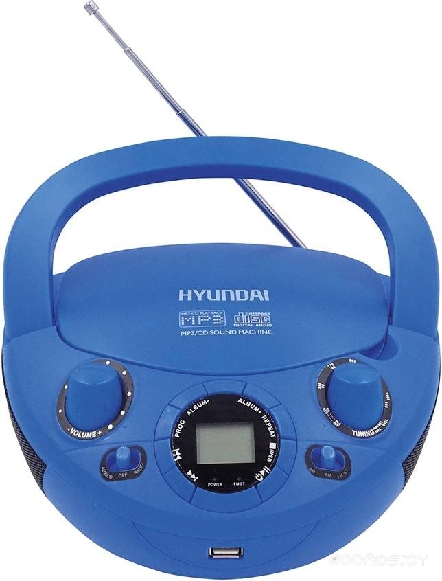Магнитола Hyundai H-PCD220 (Blue)