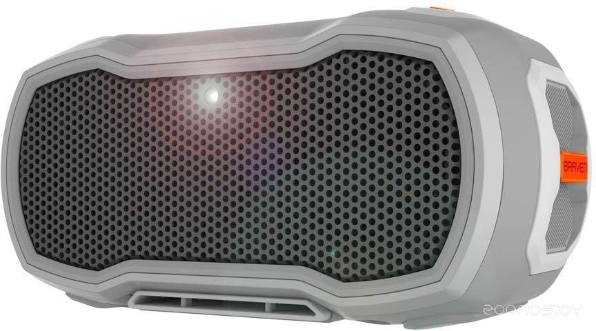 Портативная акустика BRAVEN Ready Pro (Grey-Orange)