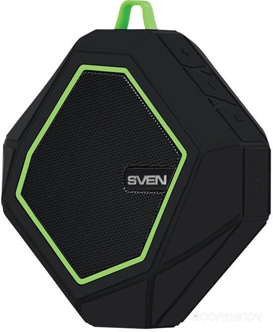 Портативная акустика Sven PS-77 (Black/ Green)