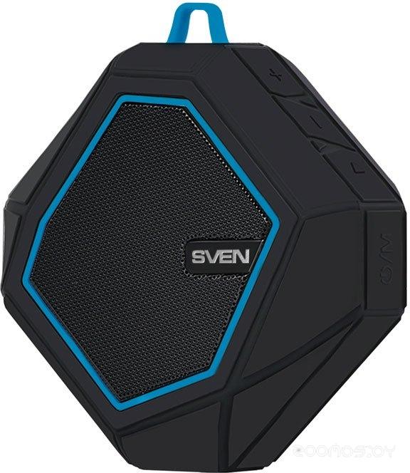 Портативная акустика Sven PS-77 (Black/ Blue)