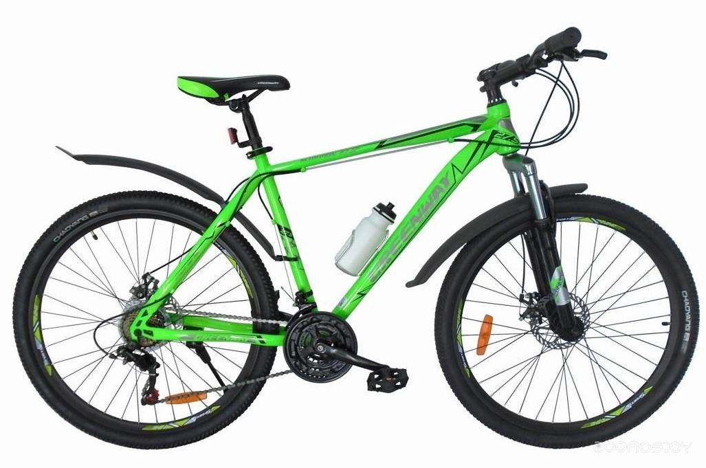 Велосипед Greenway Scorpion 29 2018 (Green)