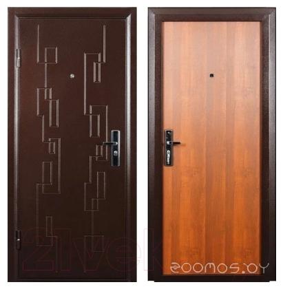 Металлические двери Промет Новосел (85x205, левая)