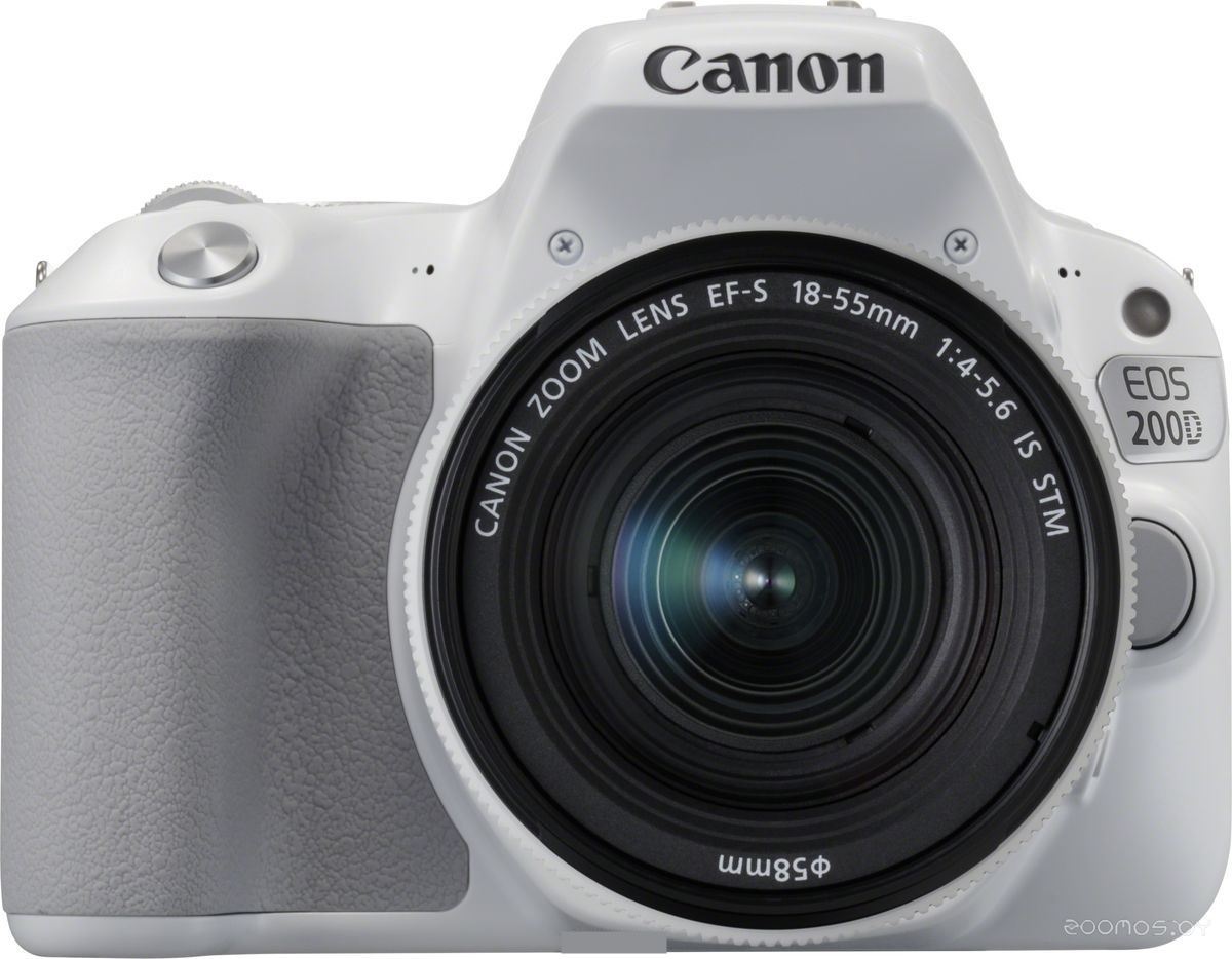 Цифровая фотокамера Canon EOS 200D Kit 18-55 mm IS STM (White)