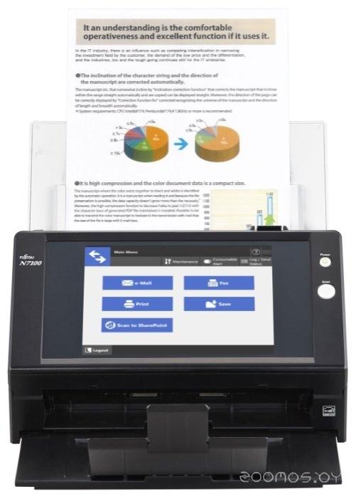 Сканер FUJITSU N7100