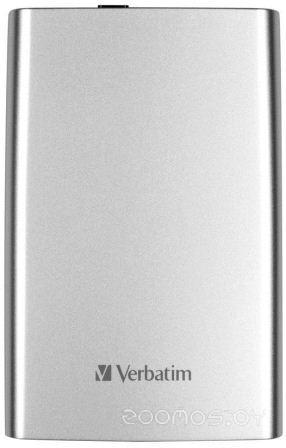 Внешний жёсткий диск VERBATIM Store 'n' Go USB 3.0 1TB 53071 (Silver)